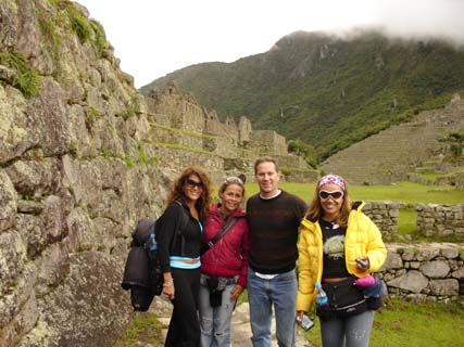 Kenneth Agee at Machu Picchu Peru